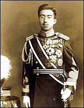 Hirohito in color